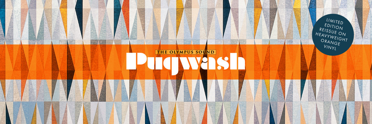 Få Pugwash Olympus Sound på Lojinx orange vinyl LP