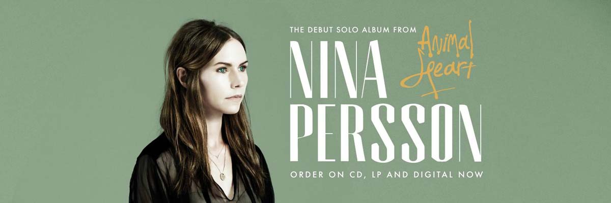 Koop Nina Persson - Animal Heart op CD, LP & Digital