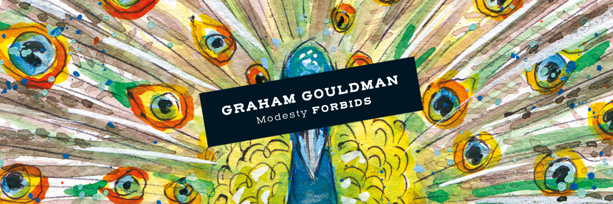 Pre-order Graham Gouldman Modesty Forbids, on Lojinx heavyweight vinyl LP, CD and digital.