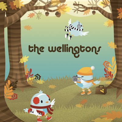 LJX013 - The Wellingtons - Heading North For The Winter