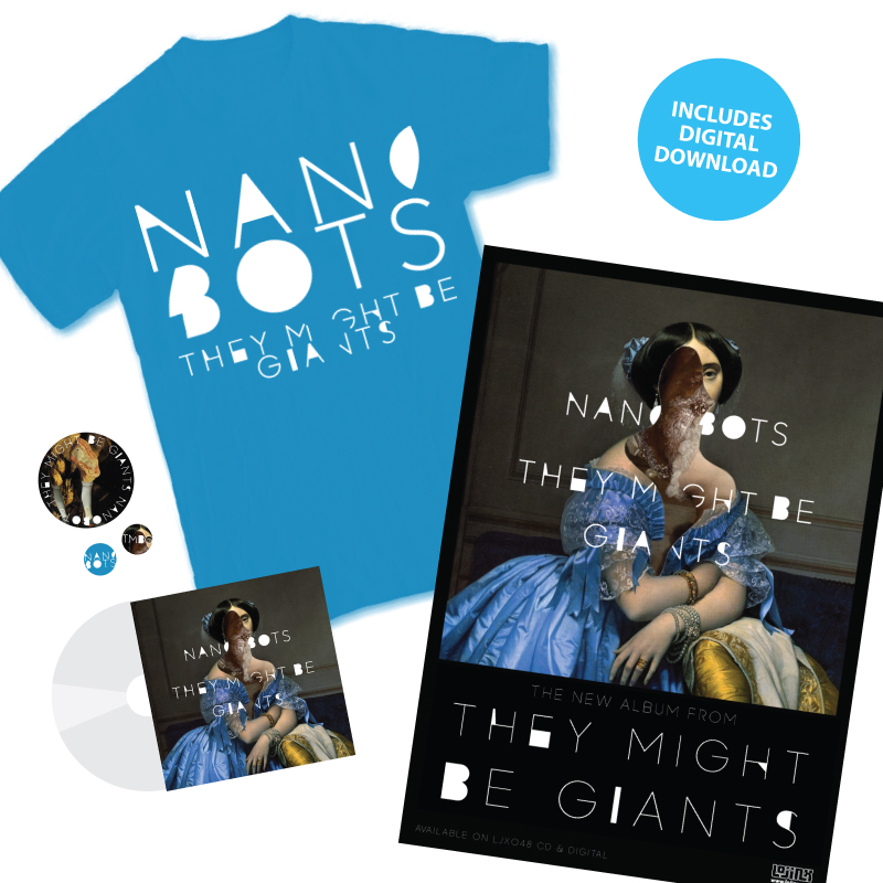 Nanobots (Poster + Tee + CD + Download)
