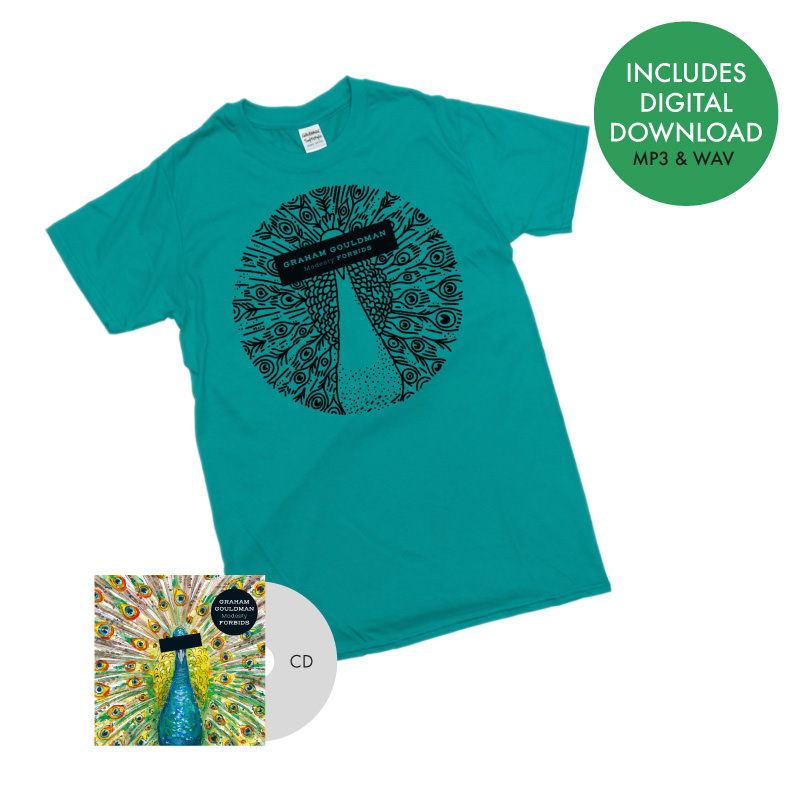 Modesty Forbids (T-shirt + CD + Download) PREORDER
